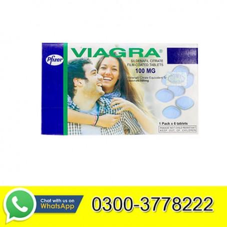 Viagra Tablets in Pakistan 6 Tab Pack