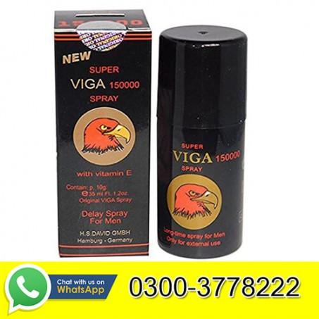 Super Viga 150000 Long Timing Delay Spray For Men