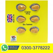 Lilly Cialis Pack of 6 Tablets 20mg in Pakistan
