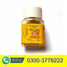Lilly Cialis Delay Timing Tablet For Men 20mg 10 Tablets in Pakistan
